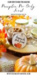 DIY: Amazing Pumpkin Pie Body Scrub + Free Printable Labels