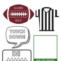 Celebrate Game Day With Free Printable Football Photo Booth Props