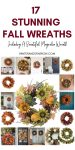 17 Stunning Fall Wreaths + A Free Watercolor Download