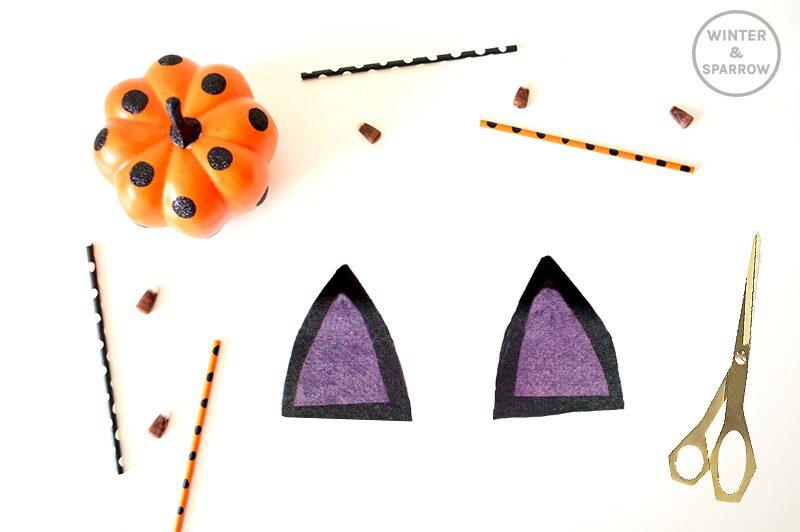 Skip the Store Bought One! Make This Cute and Original Bat Candy Dish Instead! #halloween #halloweencrafts #batcandydish #diycandydish | winterandsparrow.com