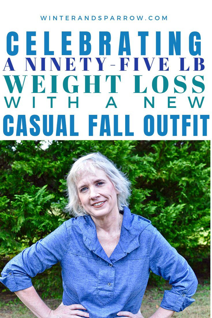 Celebrating A 95 Pound Weight Loss with a New Casual Fall Outfit (Bonus: prAna Promo Code) #prAnaHemp #prAnaFall18 #ad | winterandsparrow.com #falloutfits #fallclothing #outfitideas