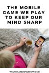 The Mobile Game We Play To Keep Our Mind Sharp #ad #Jigsawpuzzle @MobilityWare