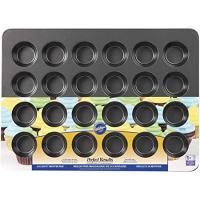 Wilton Non-Stick Mega Muffin and Cupcake Baking Pan, 24-Cup