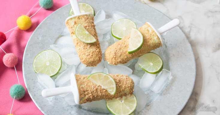 Boozy Margarita Popsicles Recipe
