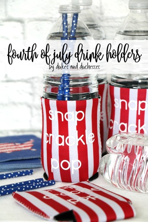 Fourth of July Drink Holders