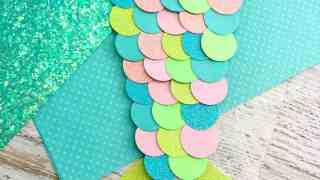Easy Mermaid Tail Craft
