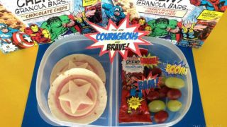 Super Hero Lunch to Help Children Feel Brave!
