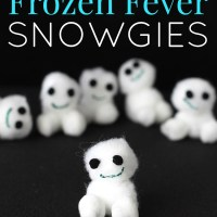 DIY Snowgies Kids Craft for a Frozen Fever Play Date