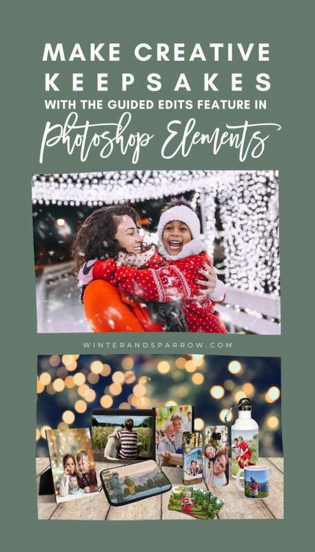 Do you think that Photoshop is too hard to learn? Think again. Remove and replace photo backgrounds, make Photoshop Overlays, edit videos, and more with the Guided Edits feature in Photoshop Elements. #photoshopelements #ad @bestbuy #adobeelements