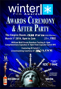 2014 Festival Awards Show Flyer