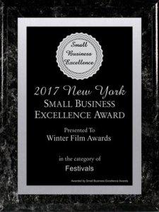 2017 NY Small Business Award