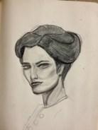 irene adler, sherlock, bbc, portrait
