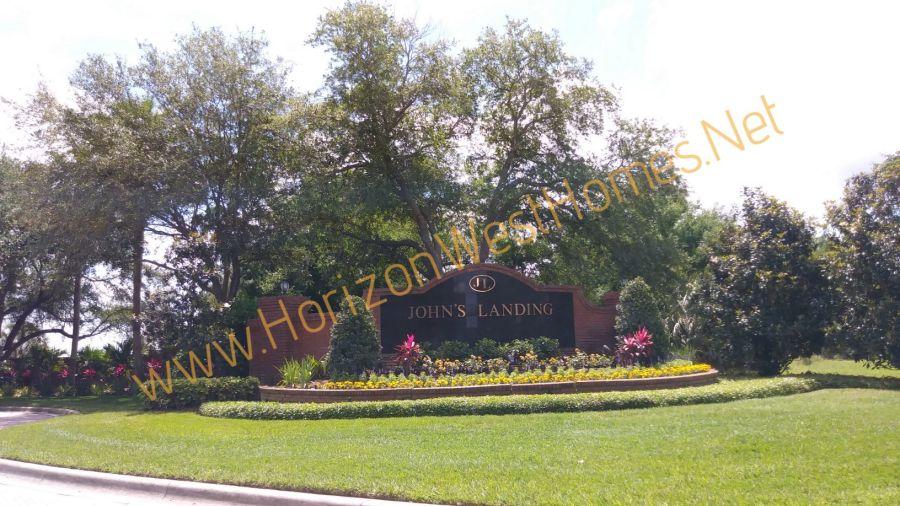 Johns Landing homes for sale. Gated community in Winter Garden Oakland Florida. real estate. Boat dock homes for sale