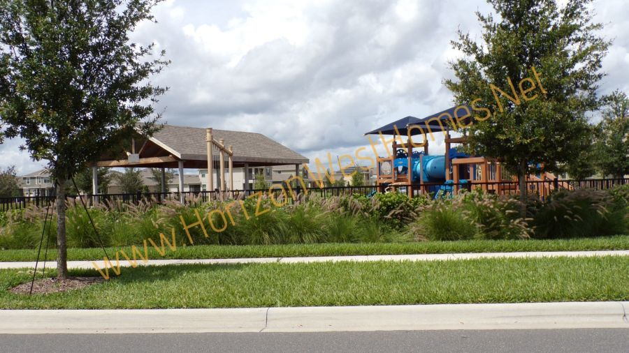 Waterleigh Playground phase 2 in Winter Garden Florida.  Home buyers in Waterleigh get plenty of amenities as part of living there.  Homes for sale are plentiful as the community will have 5 phases.