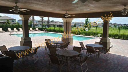 Alexander Ridge Pool Winter Garden Florida Homes for sale