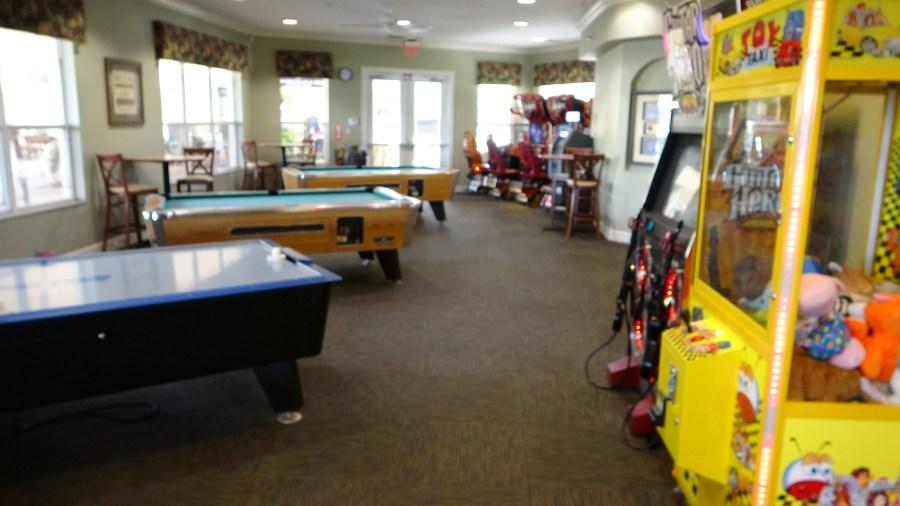 Windsor Hills Game Room Pool Tables Arcade