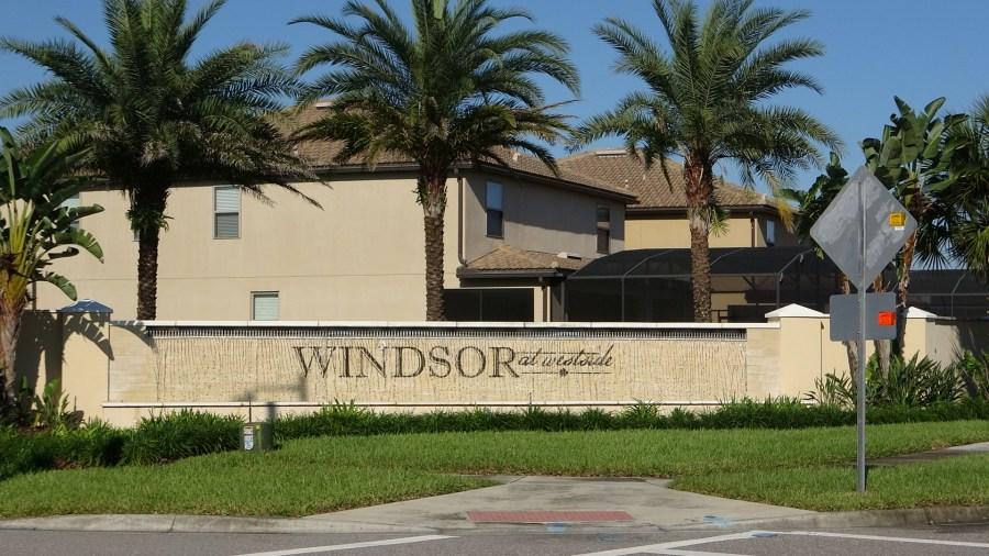 Windsor At Westside Homes for Sale Kissimmee. Pulte Homes For Sale Entrance