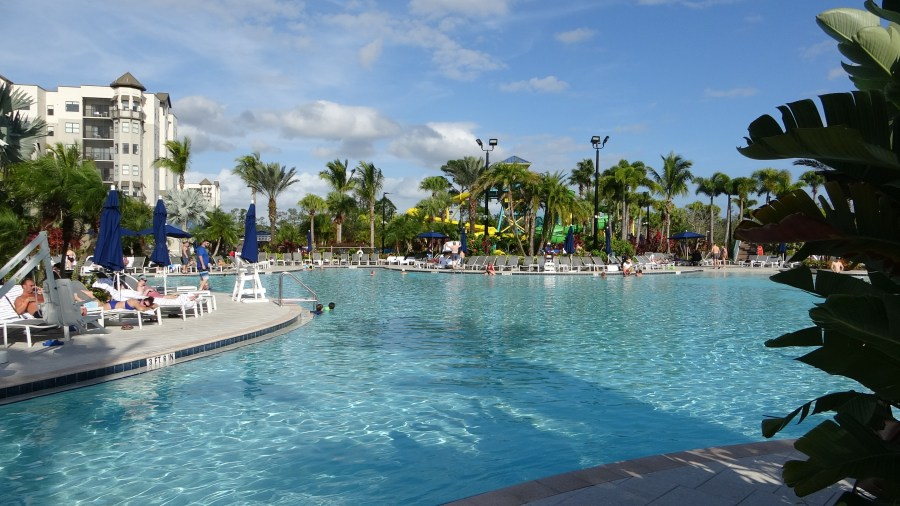 The Grove Resort and Spa. WaterPark Style pool in Winter Garden Florida. Condos for sale
