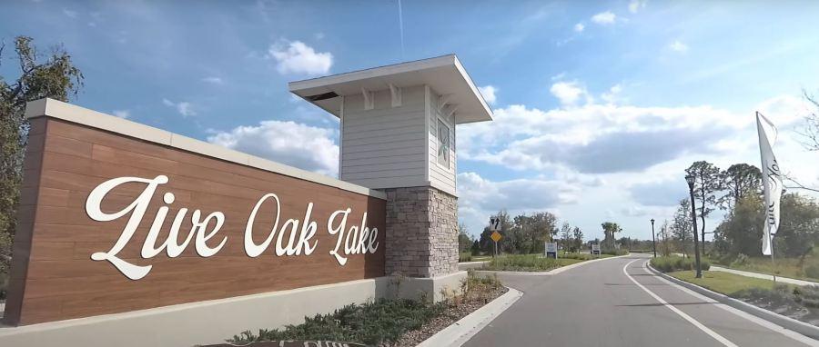 Live Oak Lake Homes For Sale in Saint Cloud Florida.  Home builder Pulte