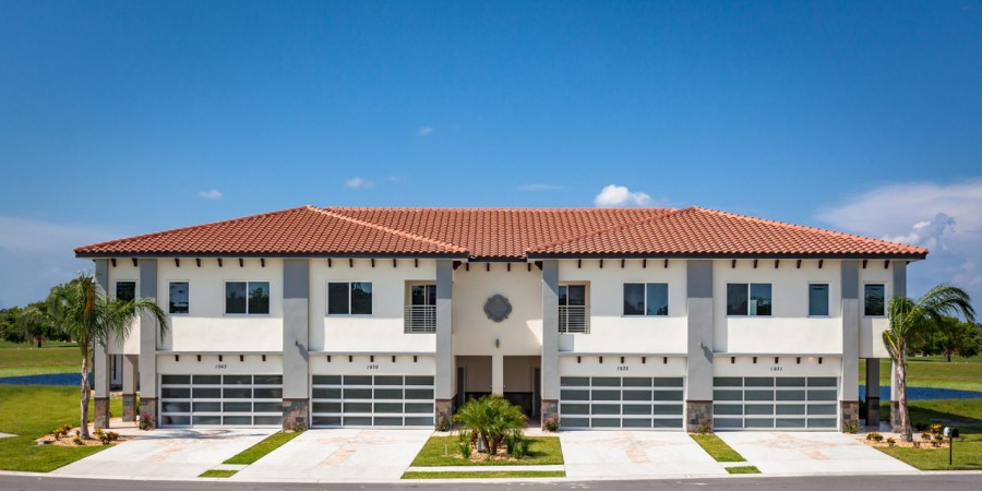 FID Homes Townhomes front in Providence Florida