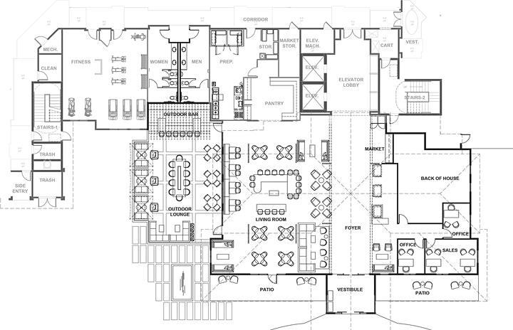 Sunset walk condo hotel at Margaritaville Floor Plan