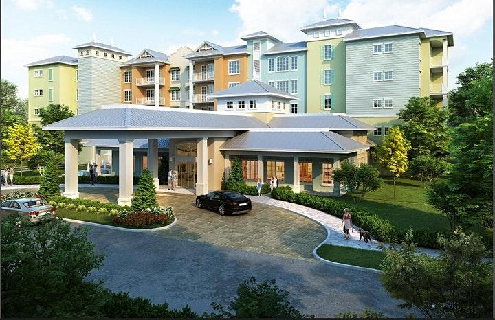 Sunset walk residences early render image at Margaritaville Orlando