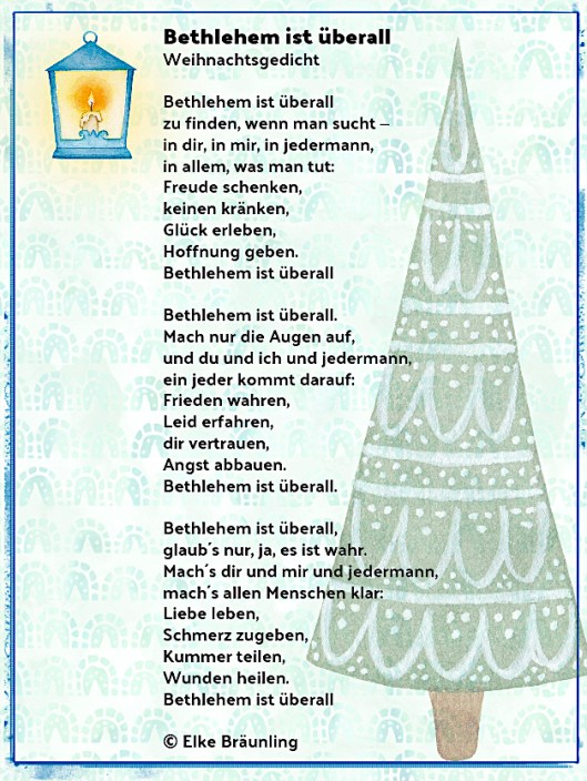 Bethlehem Ist Berall Winterzeit
