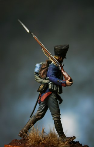 Prussian Musketeer 1815 Martin's Miniatures 54mm