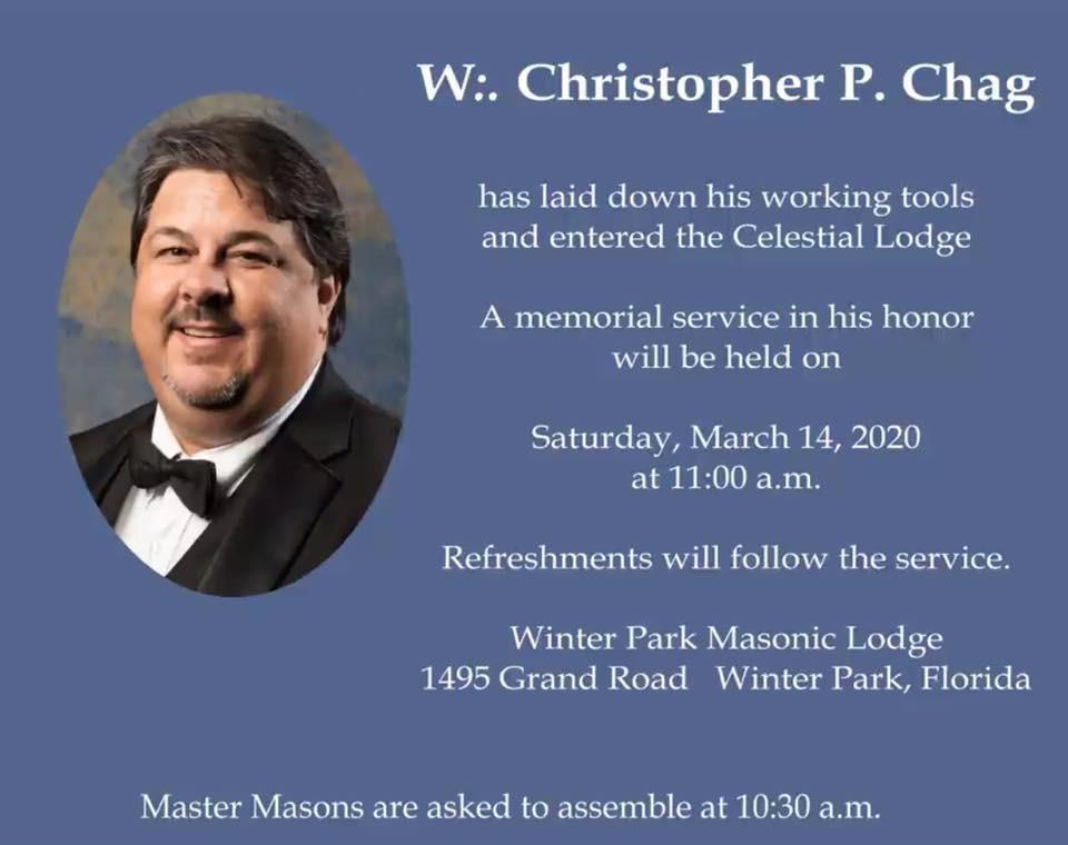 Christopher P. Chag Memorial