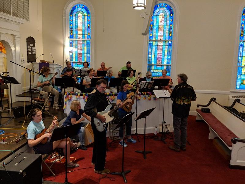 Uke Choir Unite 2019