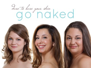 Go Naked Campaign Poster