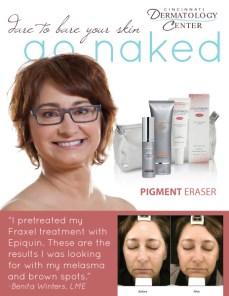 Go Naked Campaign Testimony Flyer