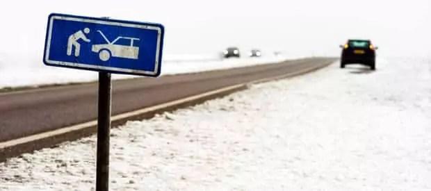 ANWB Wegenwacht en de wintersport