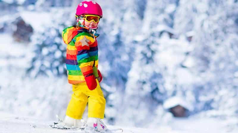 Wintersport met kinderen in Frankrijk