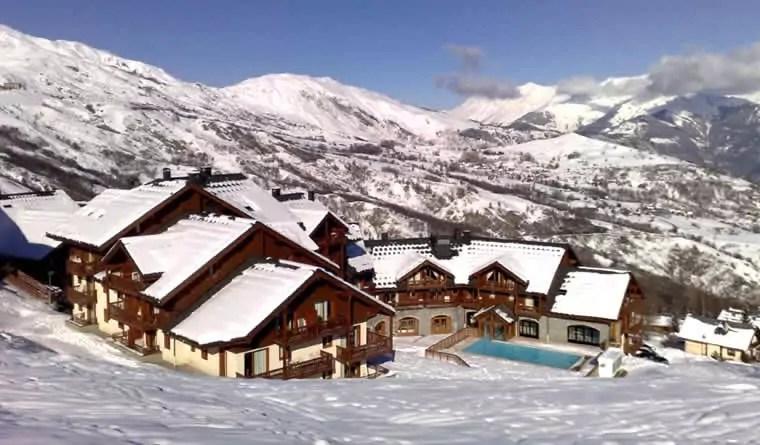 Romantische wintersportvakantie in Frankrijk