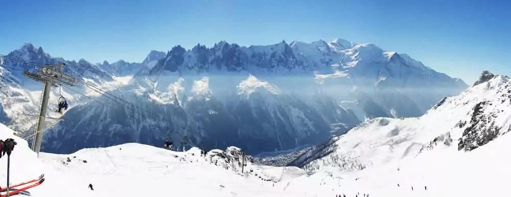 Grote skigebieden Frankrijk