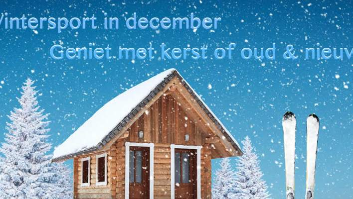 Wintersport in december