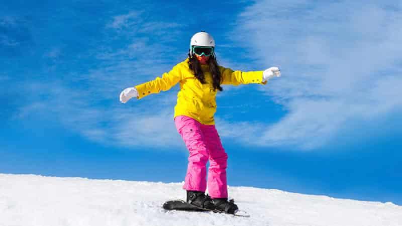 Wintersport met Tieners