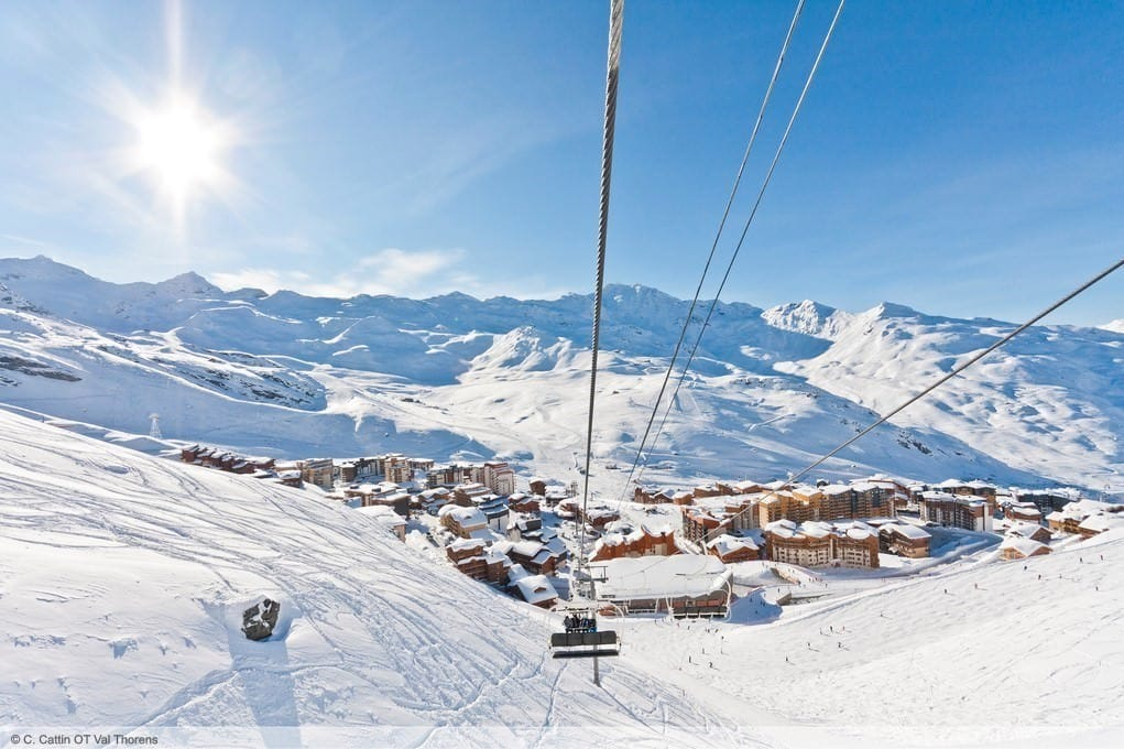 wintersport en aanbiedingen in Val Thorens