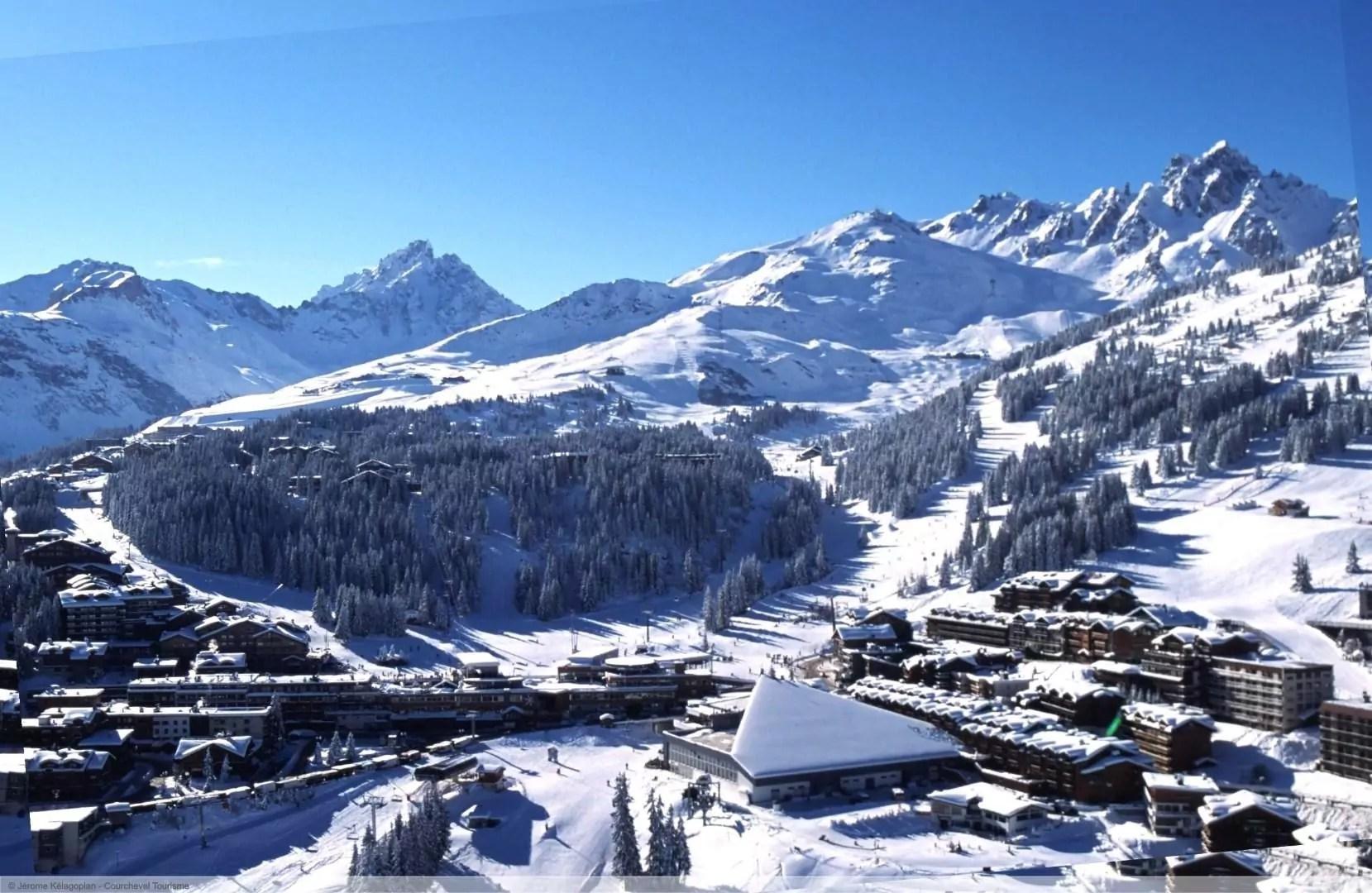 wintersport en aanbiedingen in Courchevel
