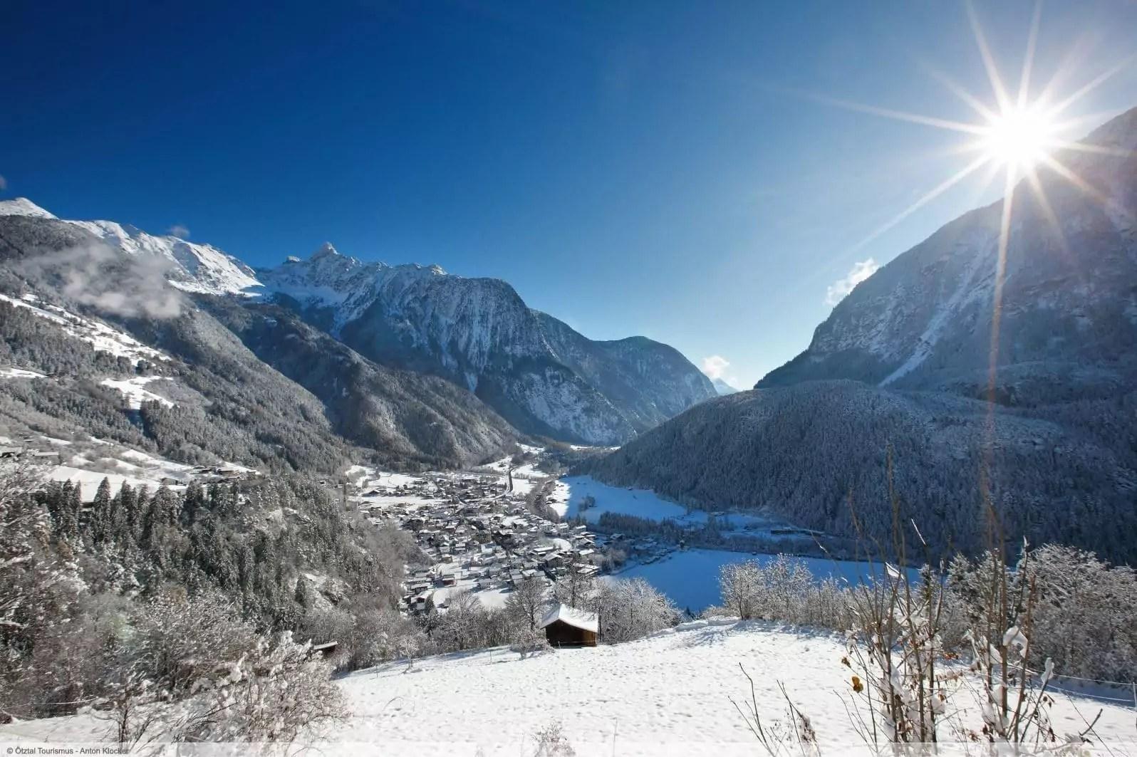 wintersport en aanbiedingen in Oetz