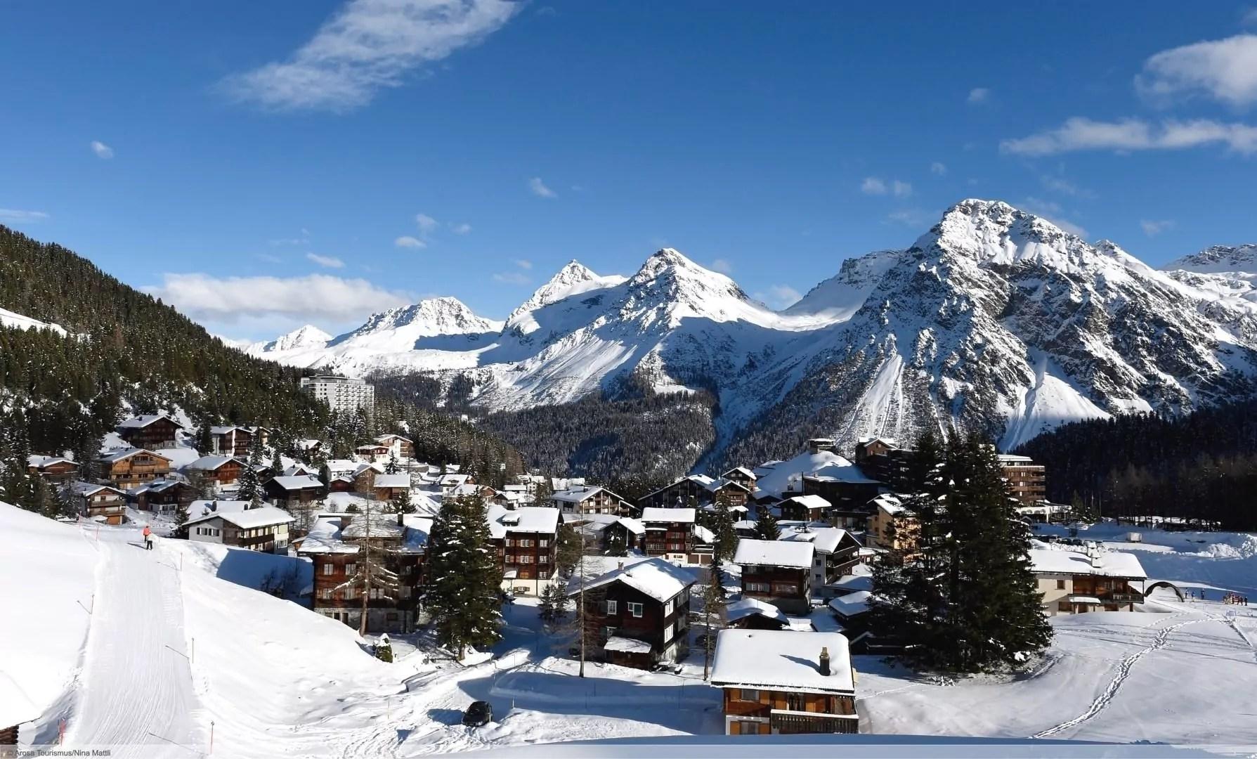 wintersport en aanbiedingen in Arosa