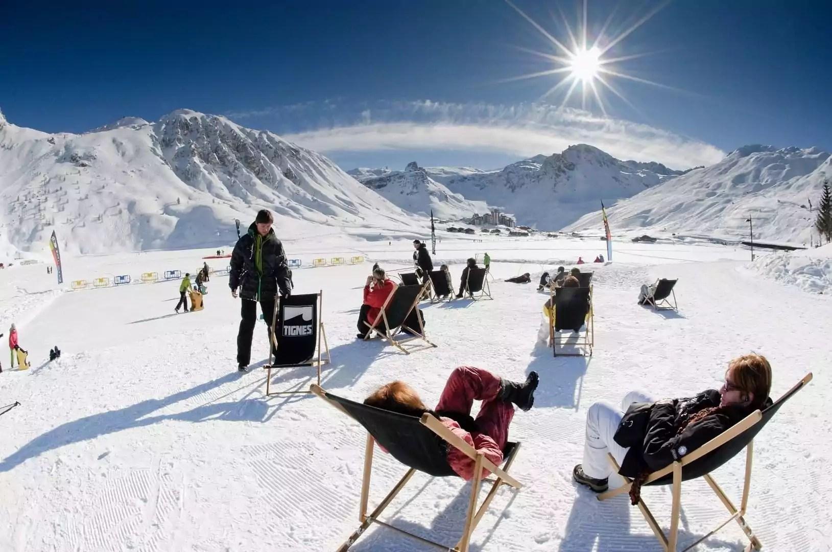 après-ski in Tignes