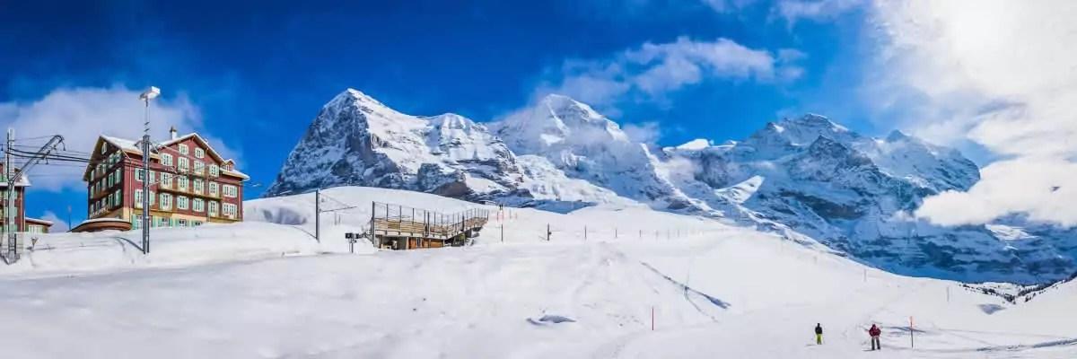 Wintersport landen