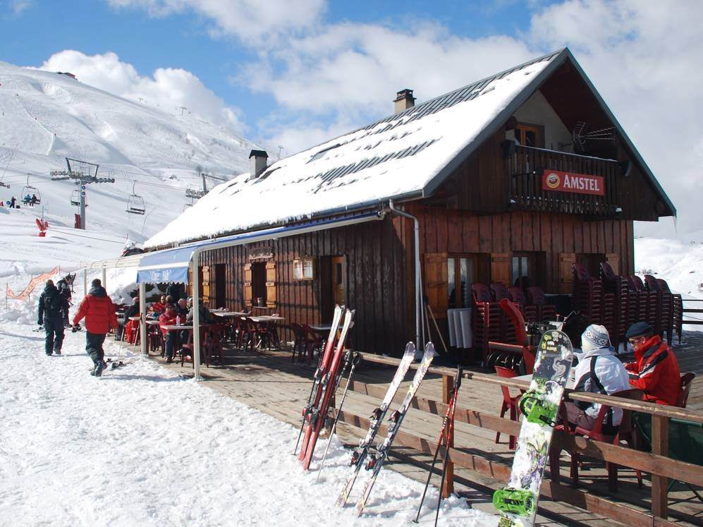 après-ski in Saint Sorlin (Les Sybelles)