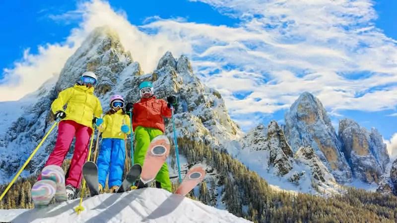 Wintersport in Trentino, Italiaanse Dolomiten