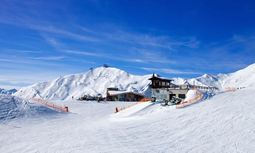 Populaire skigebieden