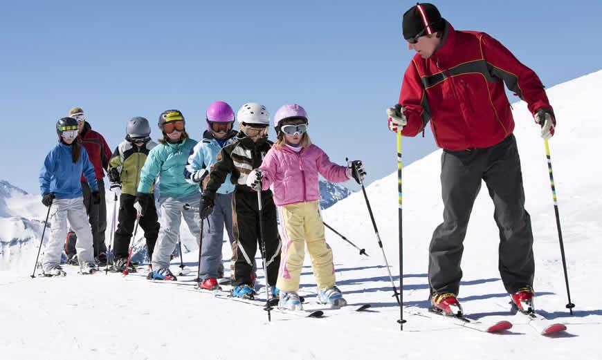 Vroegboeken en wintersport Januari