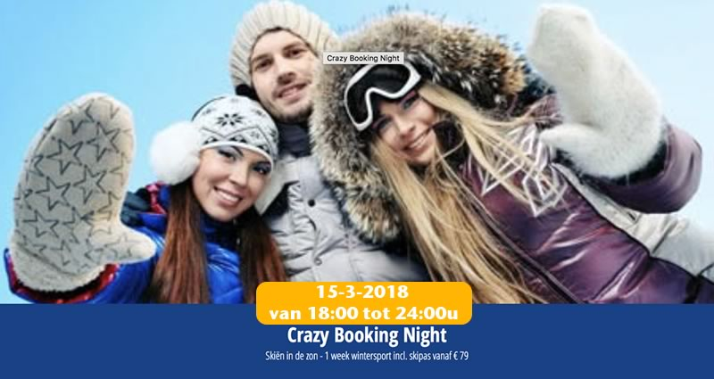 Crazy Booking night