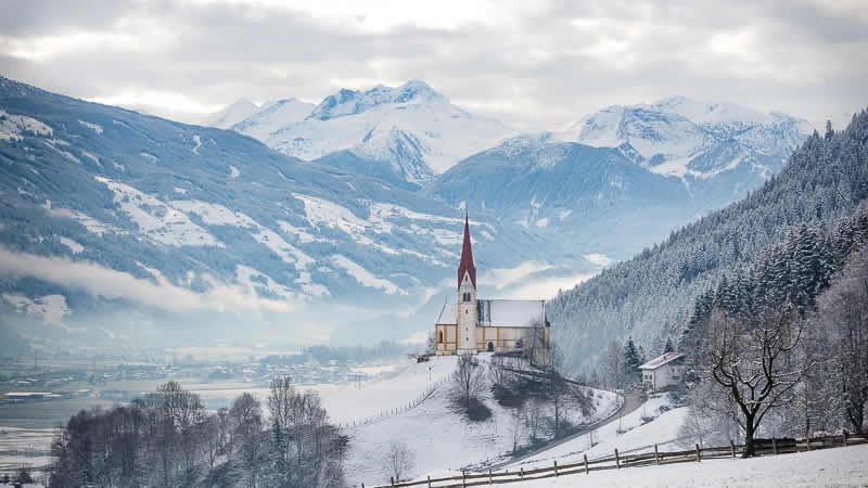Wintersport in Fügen